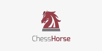 Chess Horse Logo
