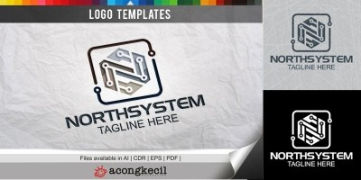 North System - Logo Template