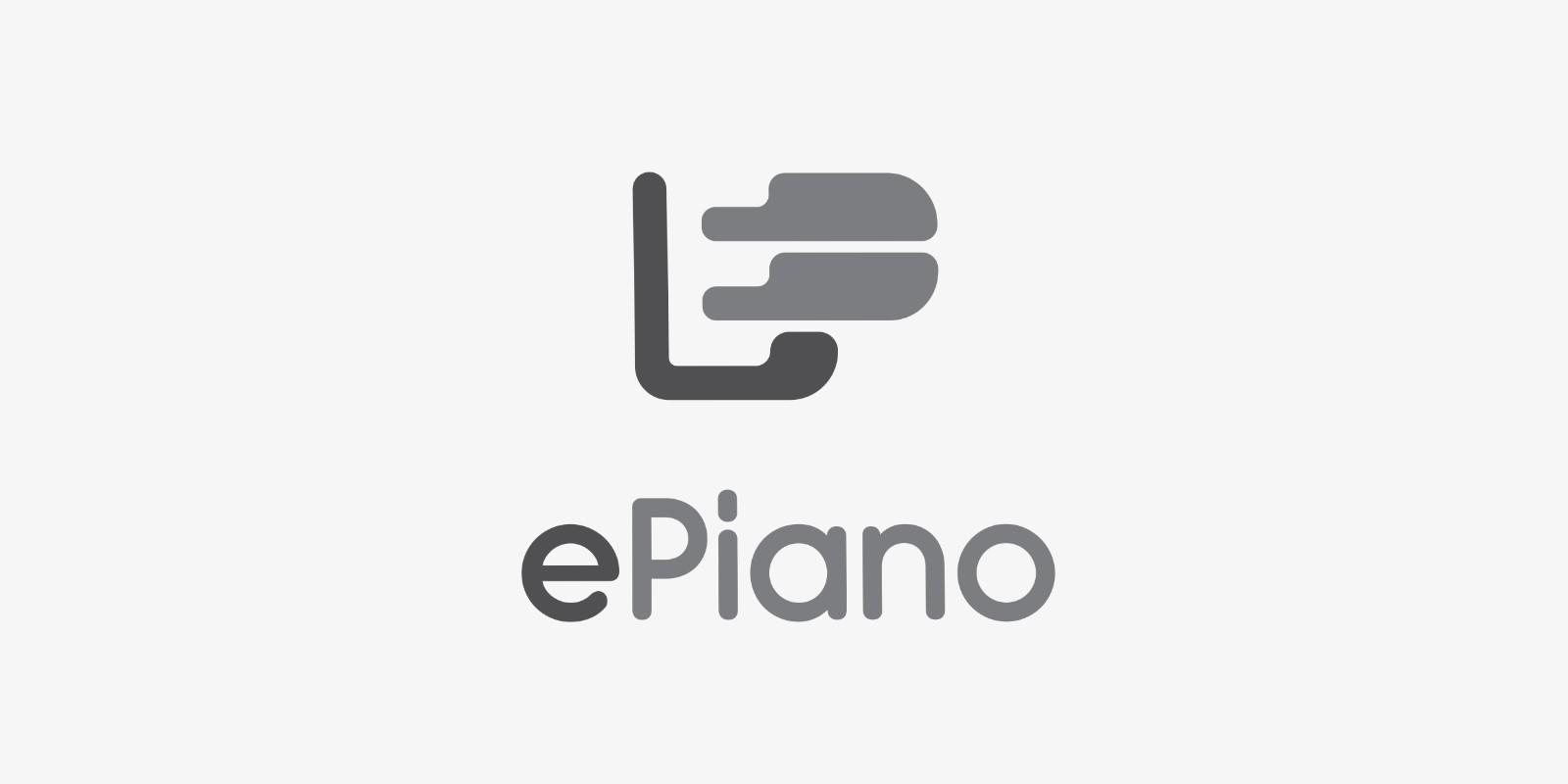 E Piano Logo