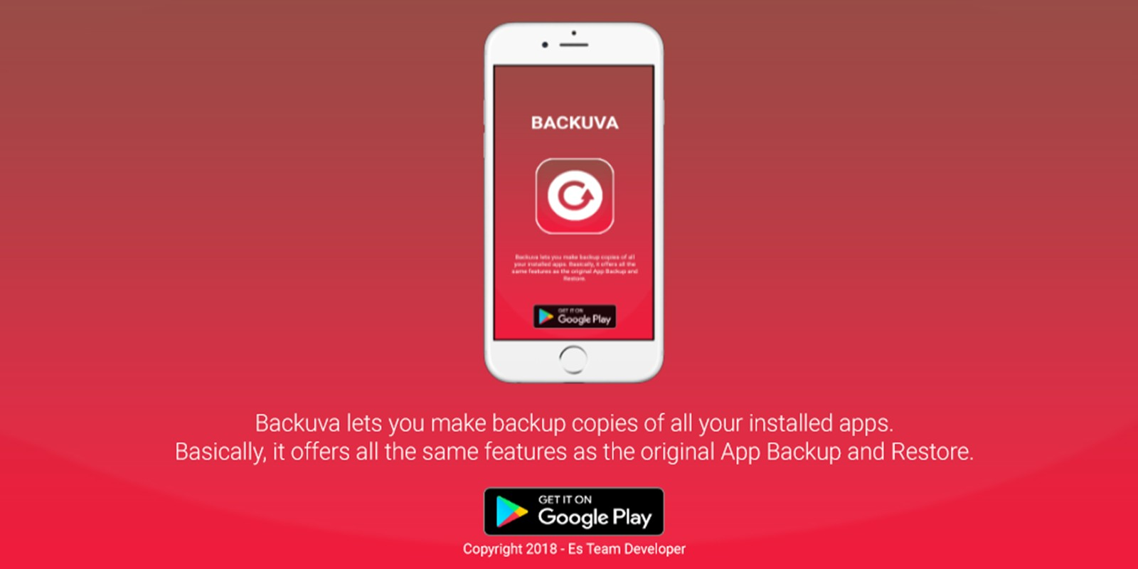 Backuva - Backup And Restore Android Source Code