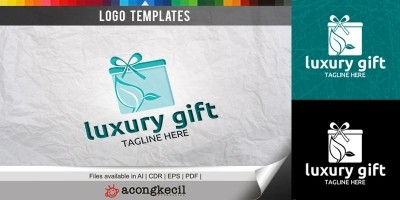 Luxury Gift - Logo Template