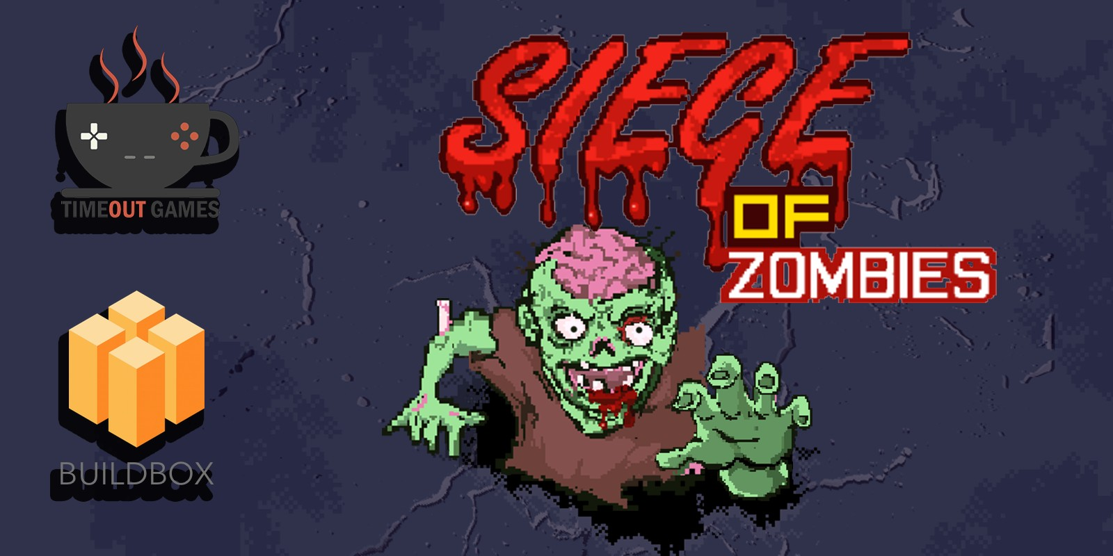 Siege of Zombies - Buildbox Game Template