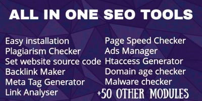All in One SEO Tools - PHP Script