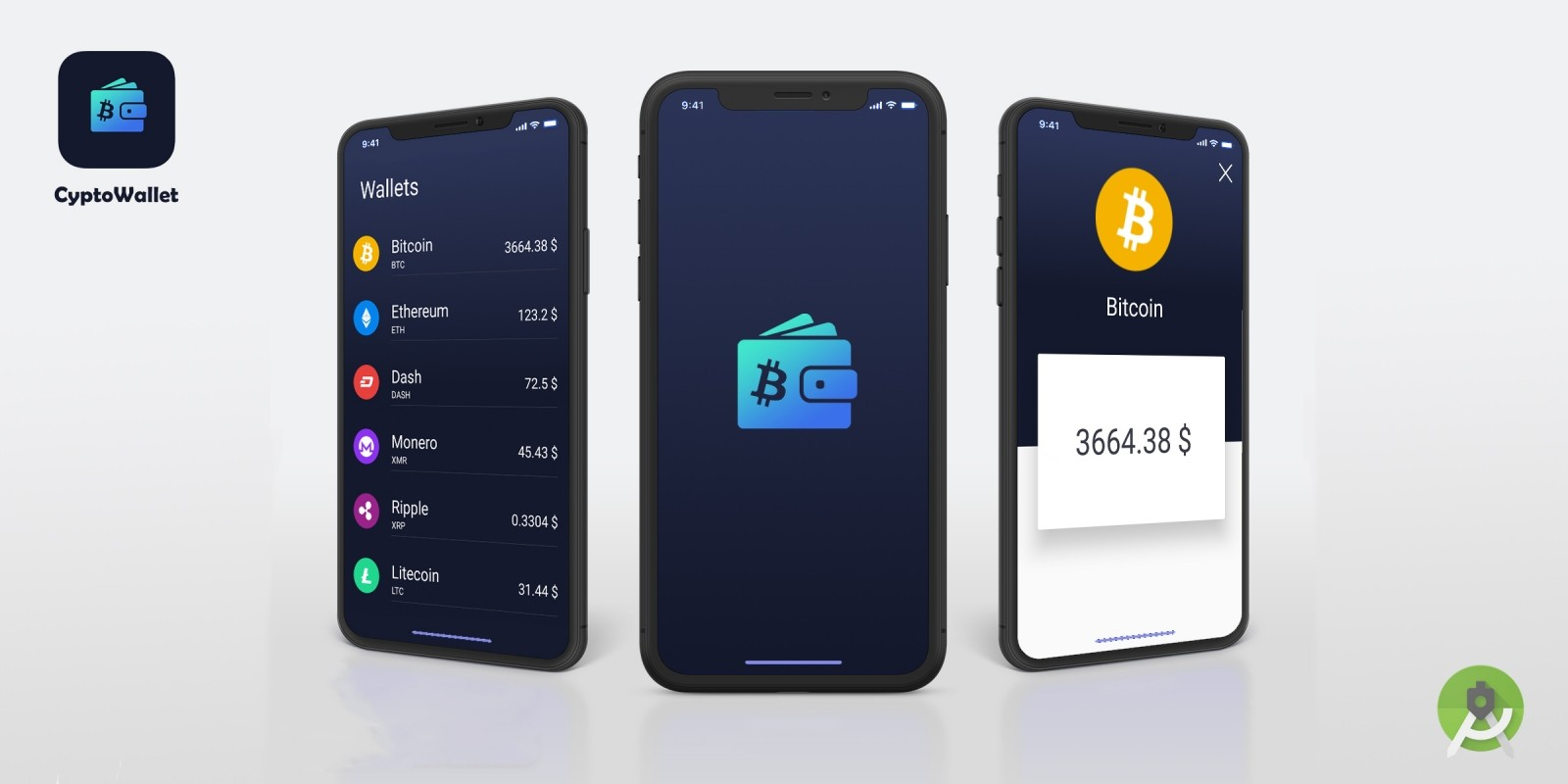 CryptoWallet - Crypto Tracker Android Template