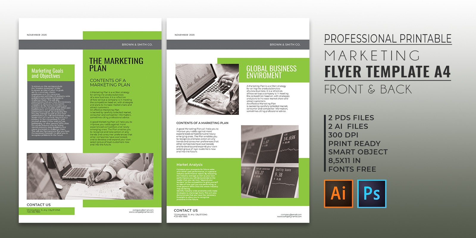 Professional Marketing Flyer Template