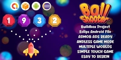 Ball Shooter - Buildbox template Android