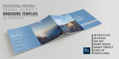 Travel Agency Brochure Catalog