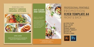Professional Promotion Flyer - PSD Templates
