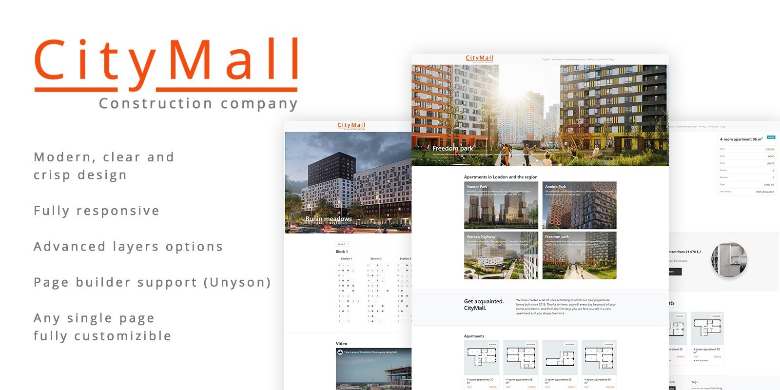 CityMall WordPress Theme