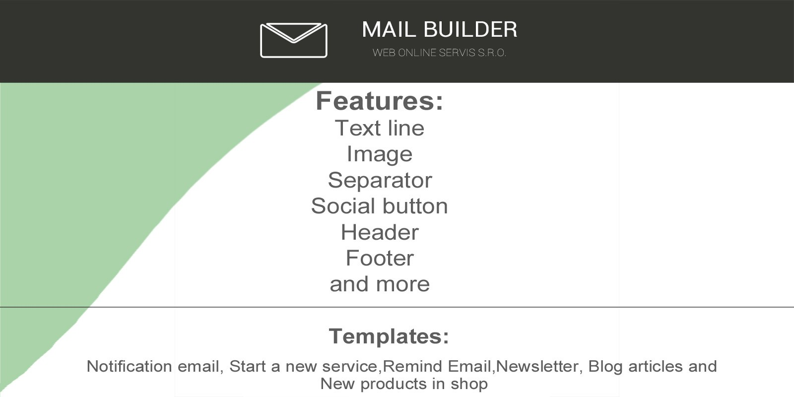 Easy Mail Builder PHP Script