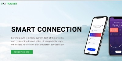 AT Tracker - Responsive App Joomla Template