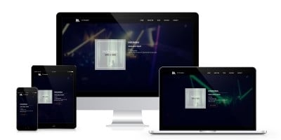 Music - Person Page Responsive Template