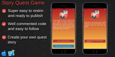 Quest Story Game - iOS Xcode Project