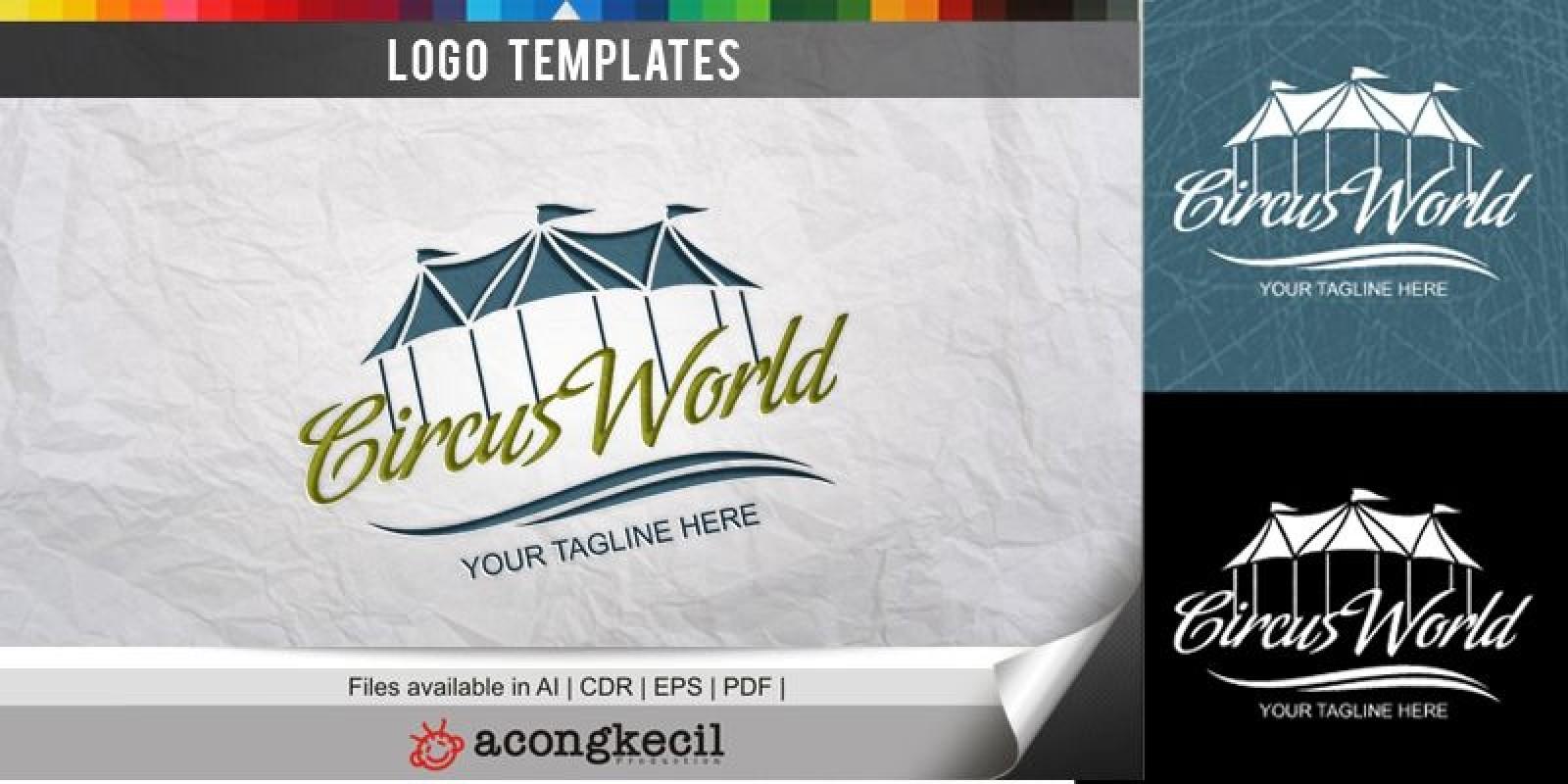 Circus World - Logo Template