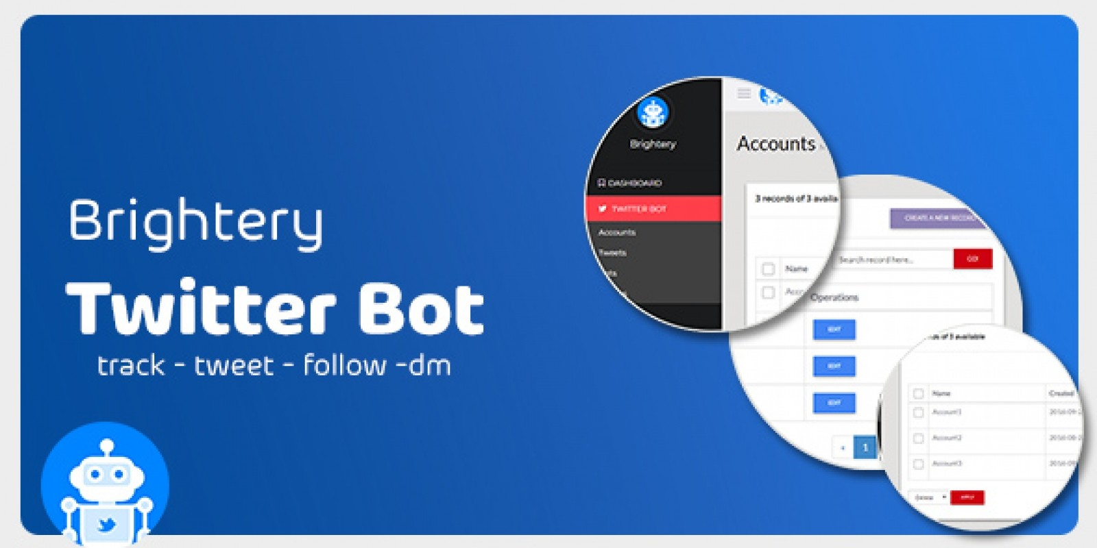 Brightery Twitter Bot - PHP Script