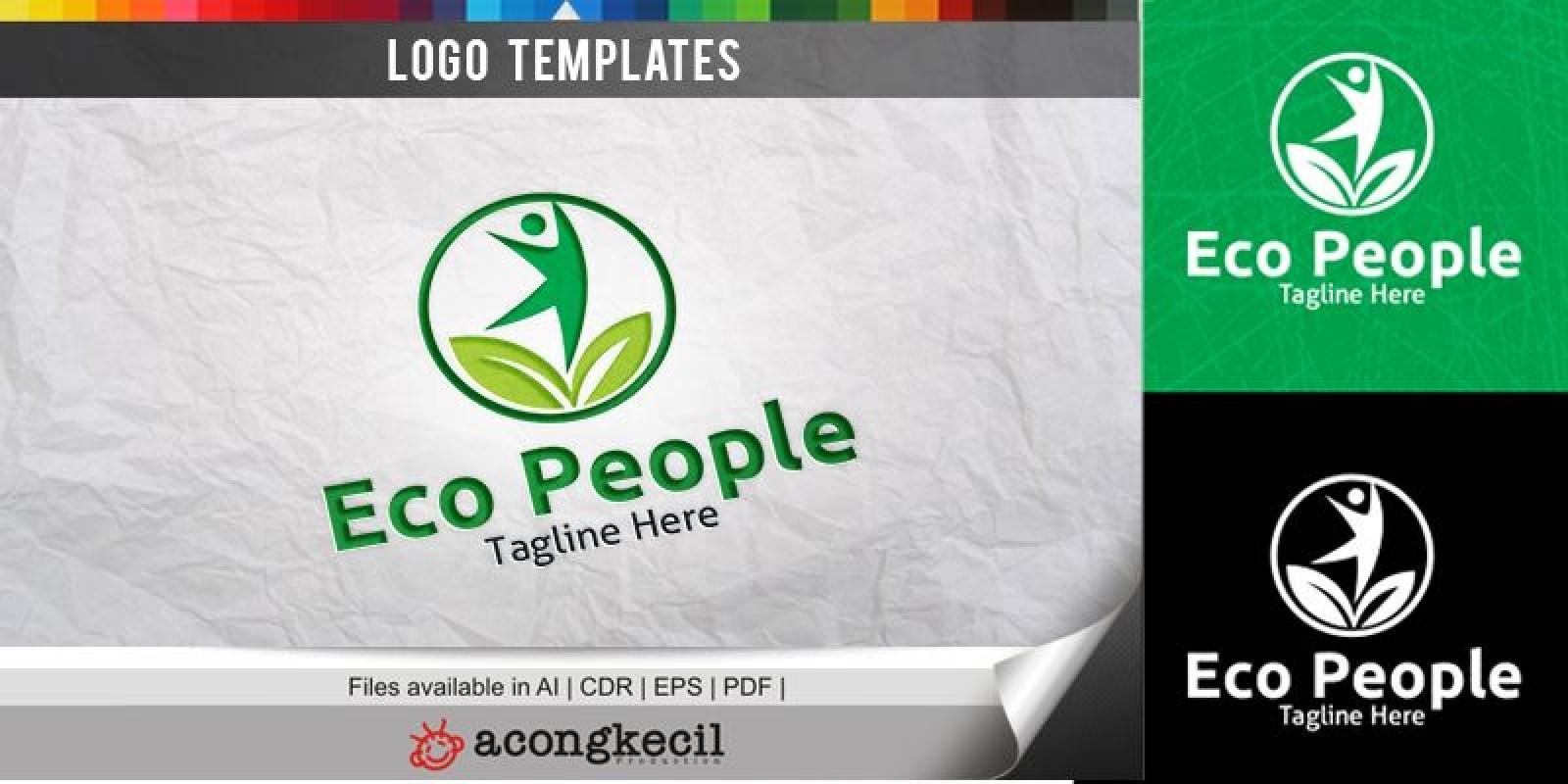 Eco Human - Logo Template