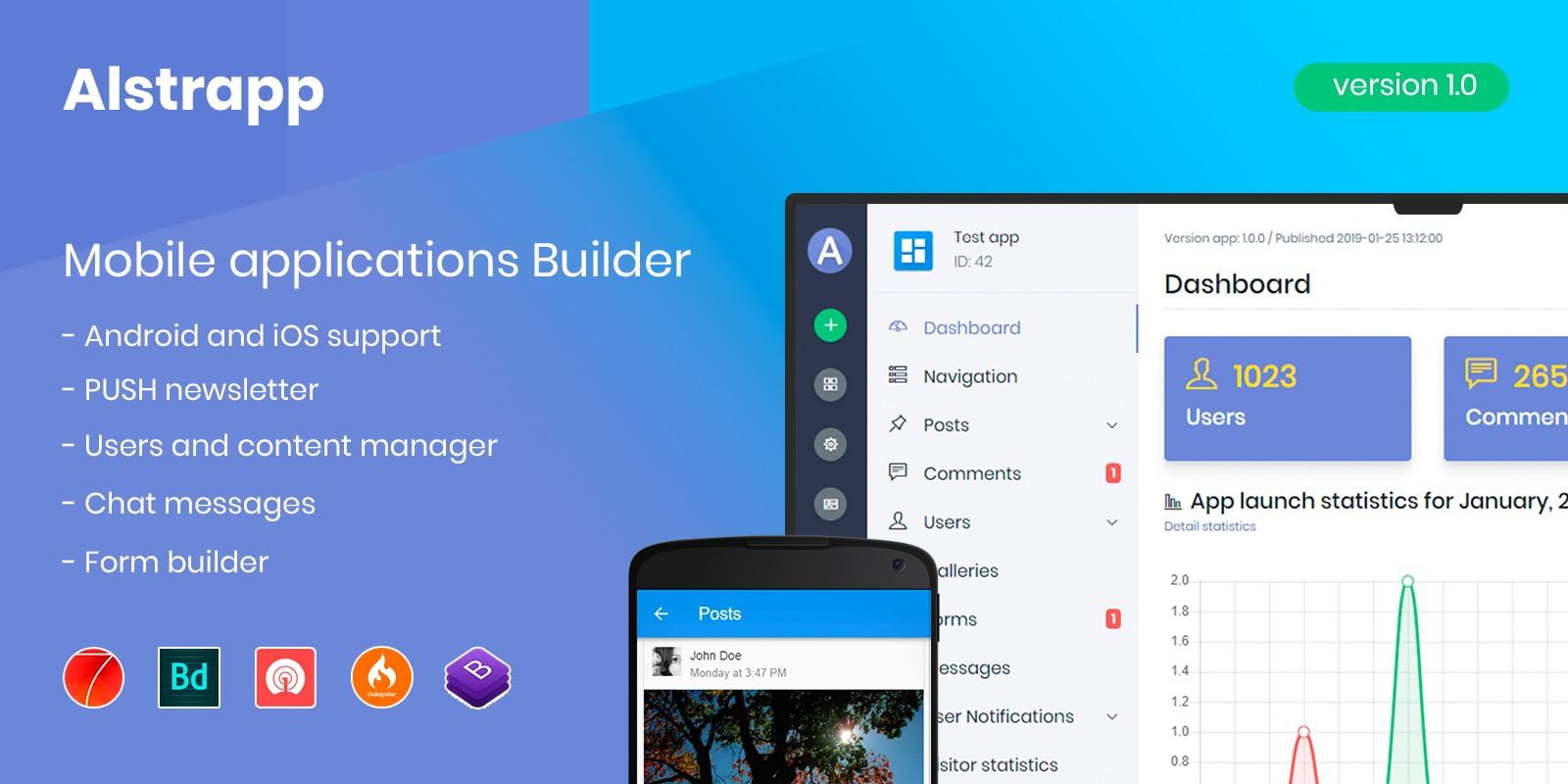 Alstrapp - App Builder script