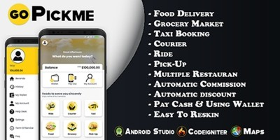 GoPickme - On Demand Services Android Template