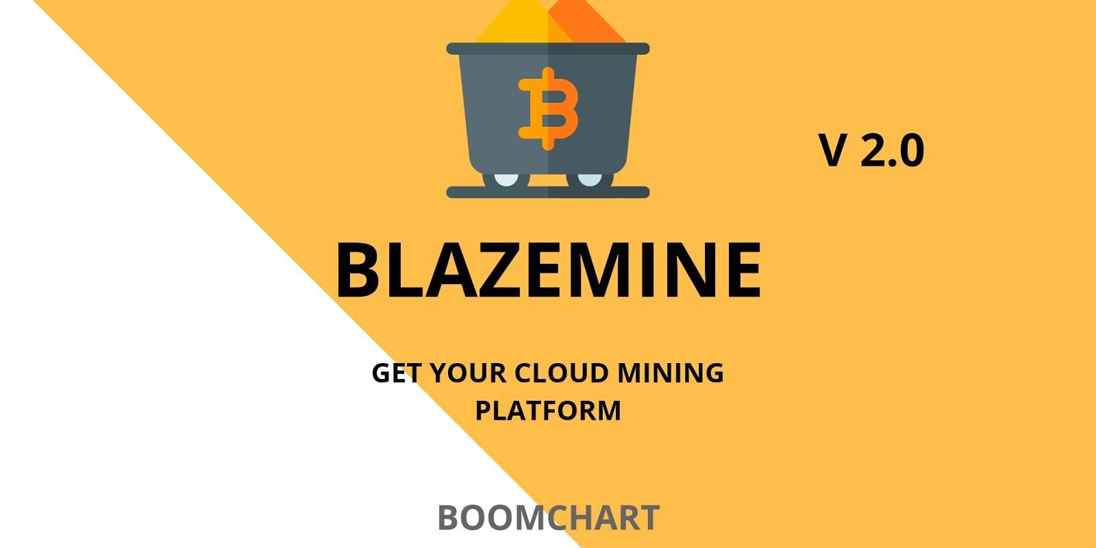 Blazemine - Cloudmining Platform PHP