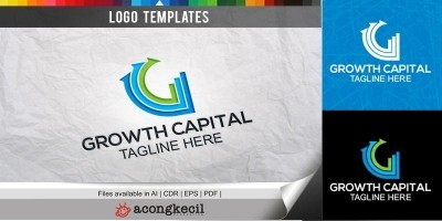 Growth Capital - Logo Template