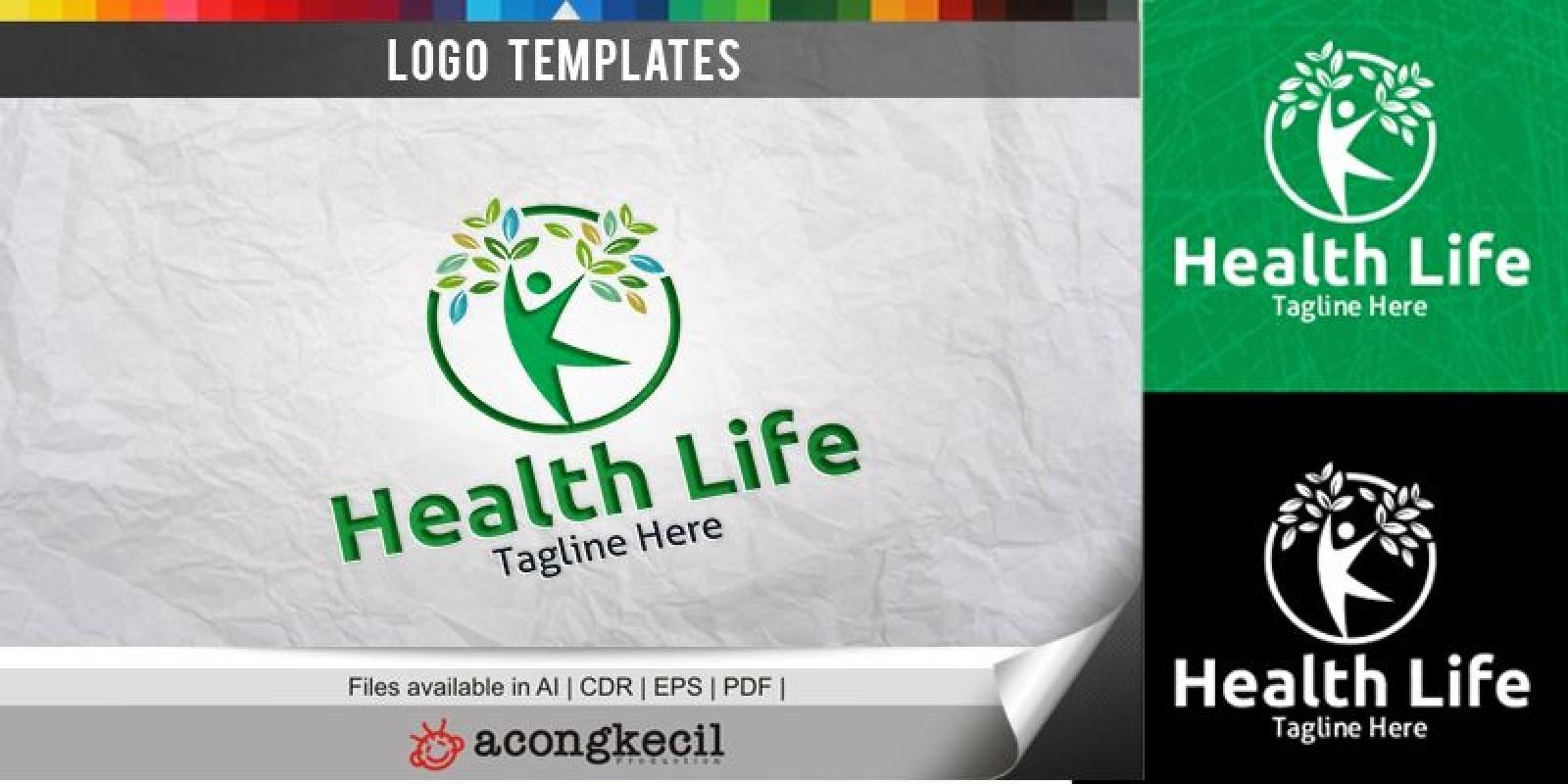 Health Life - Logo Template