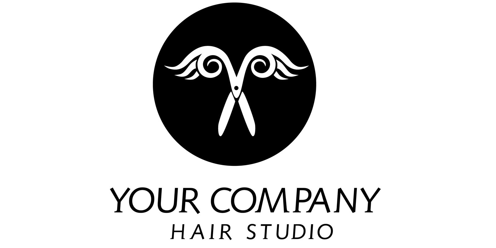 Winged Scissors Logo