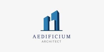 Aedificium Logo Template