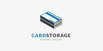 Card Storage Logo Template