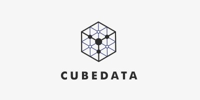 Cube Data Logo Template