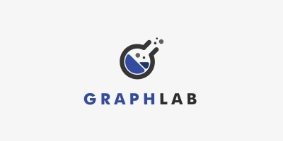 Graph Lab Logo Template