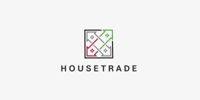 House Trade Logo Template