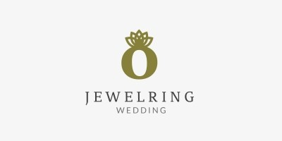 Jewel Ring Logo Template