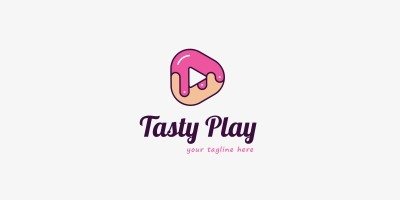 Tasty Play Logo Template