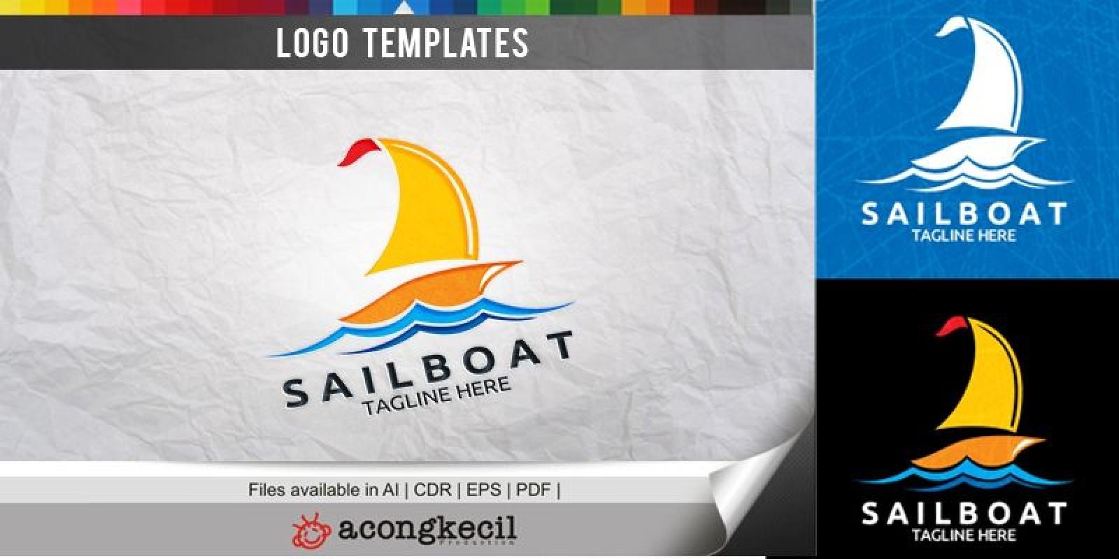 Sailboat - Logo Template