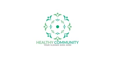 Health Community Logo Design