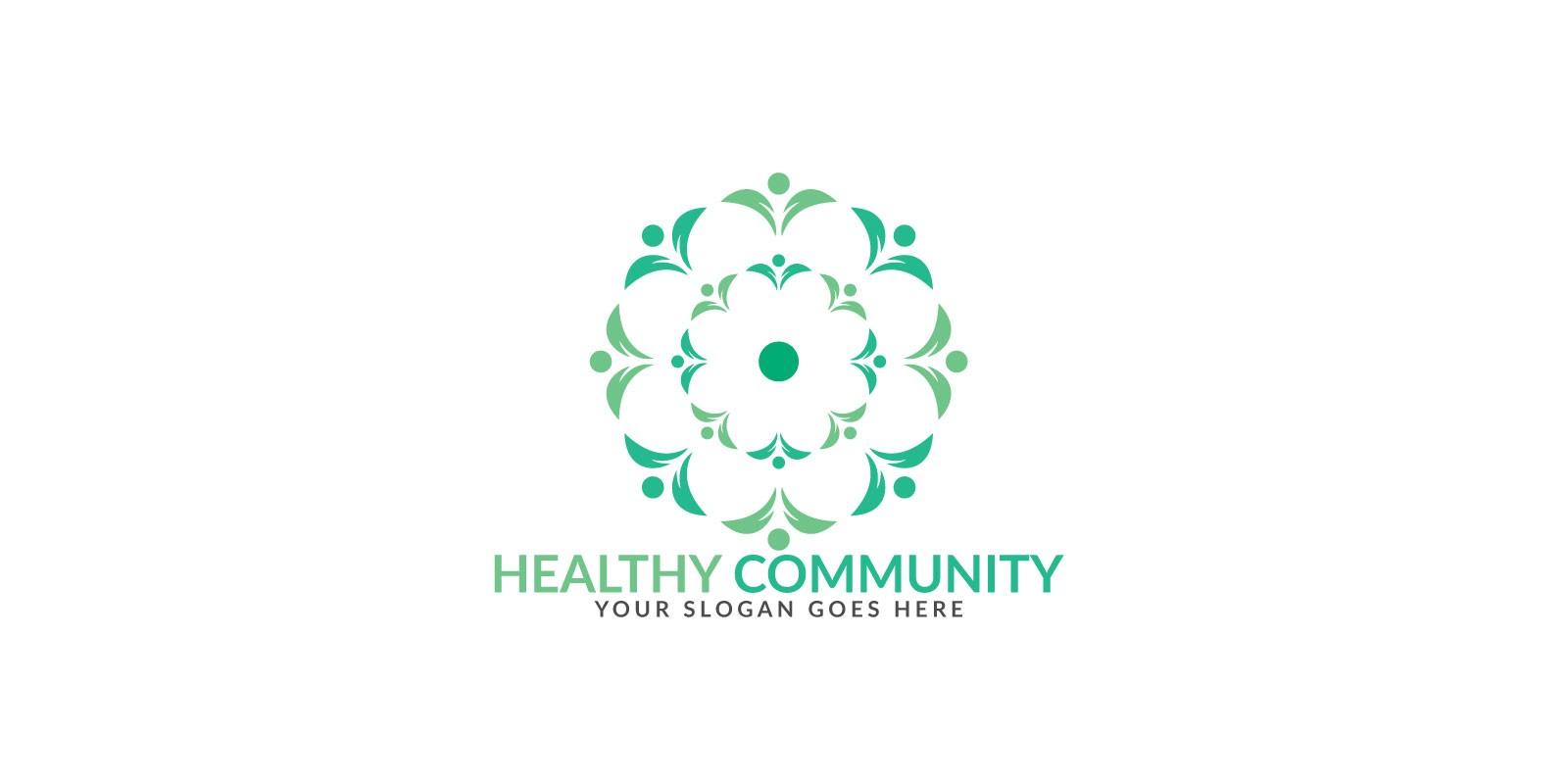 Health Community Logo Design