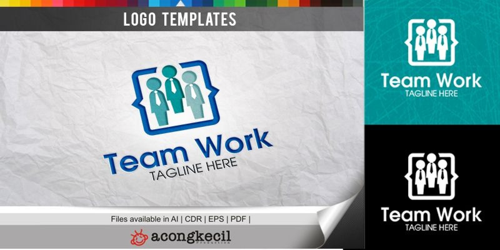 Team Work - Logo Template