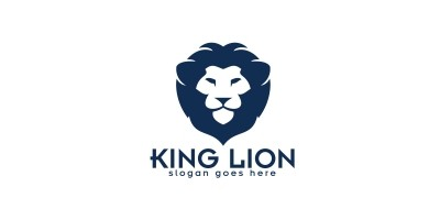 King Lion Logo Design