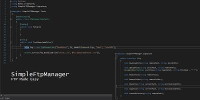 SimpleFTPManager .NET