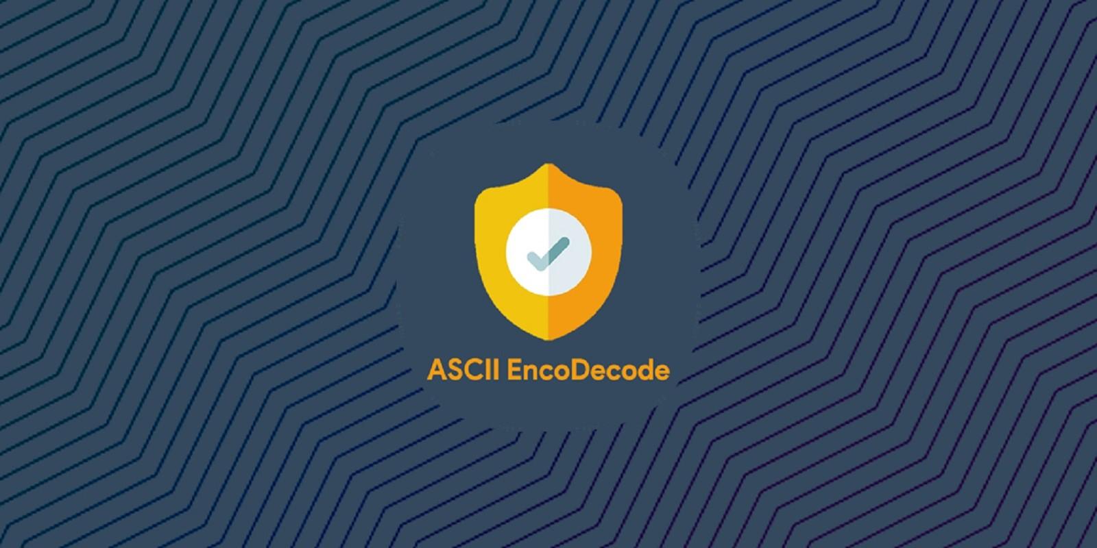 ASCII Encode  Decode - Android Source Code