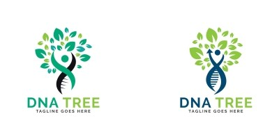 DNA Tree Logo