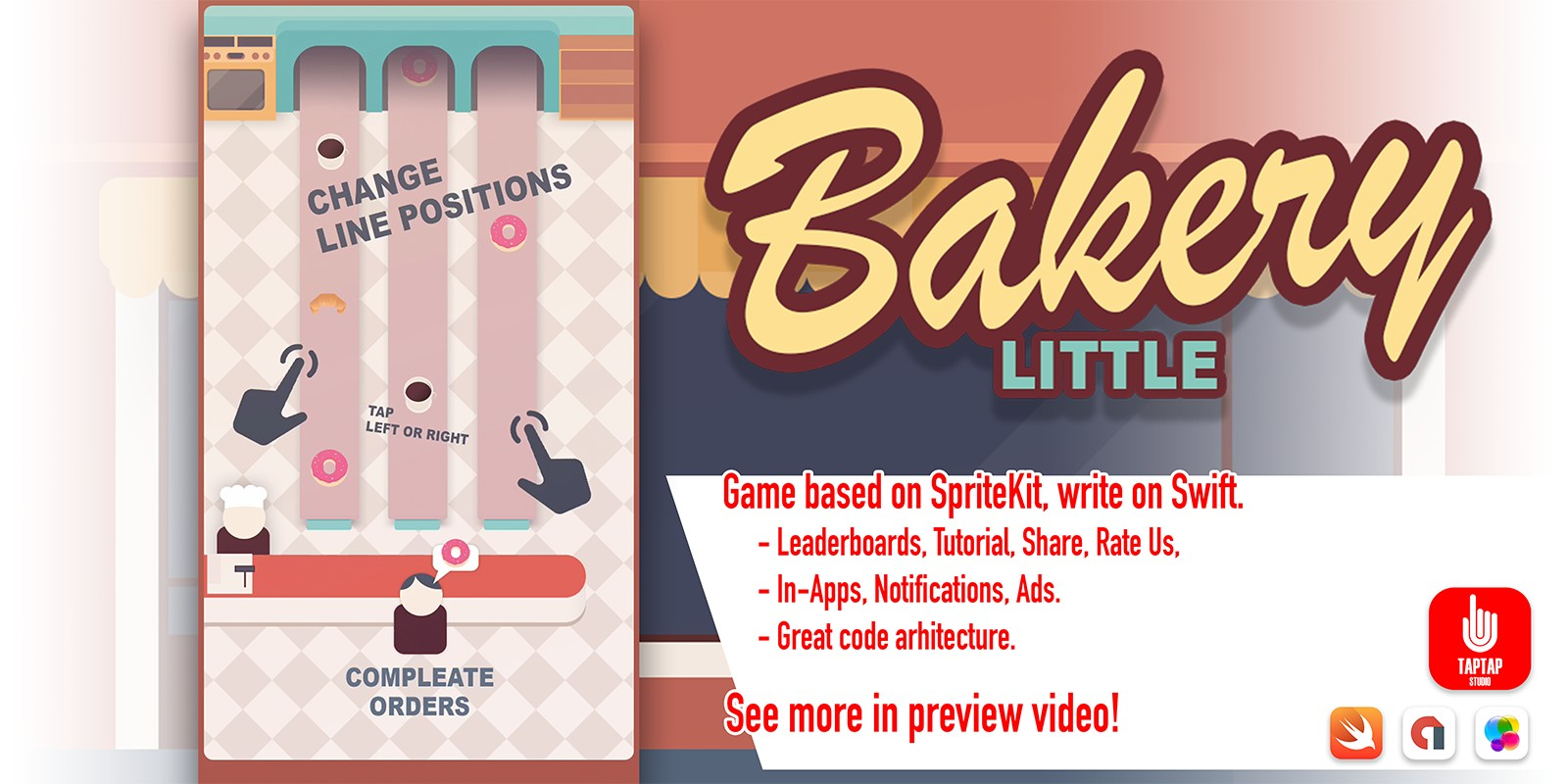 Little Bakery - iOS Source Code