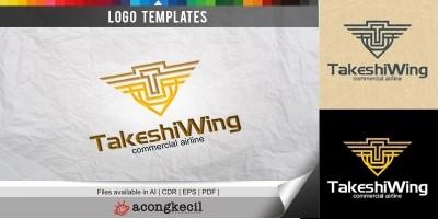 Takashi Wing - Logo Template