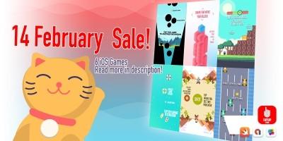 14 February Sale - iOS Source Code Bundle