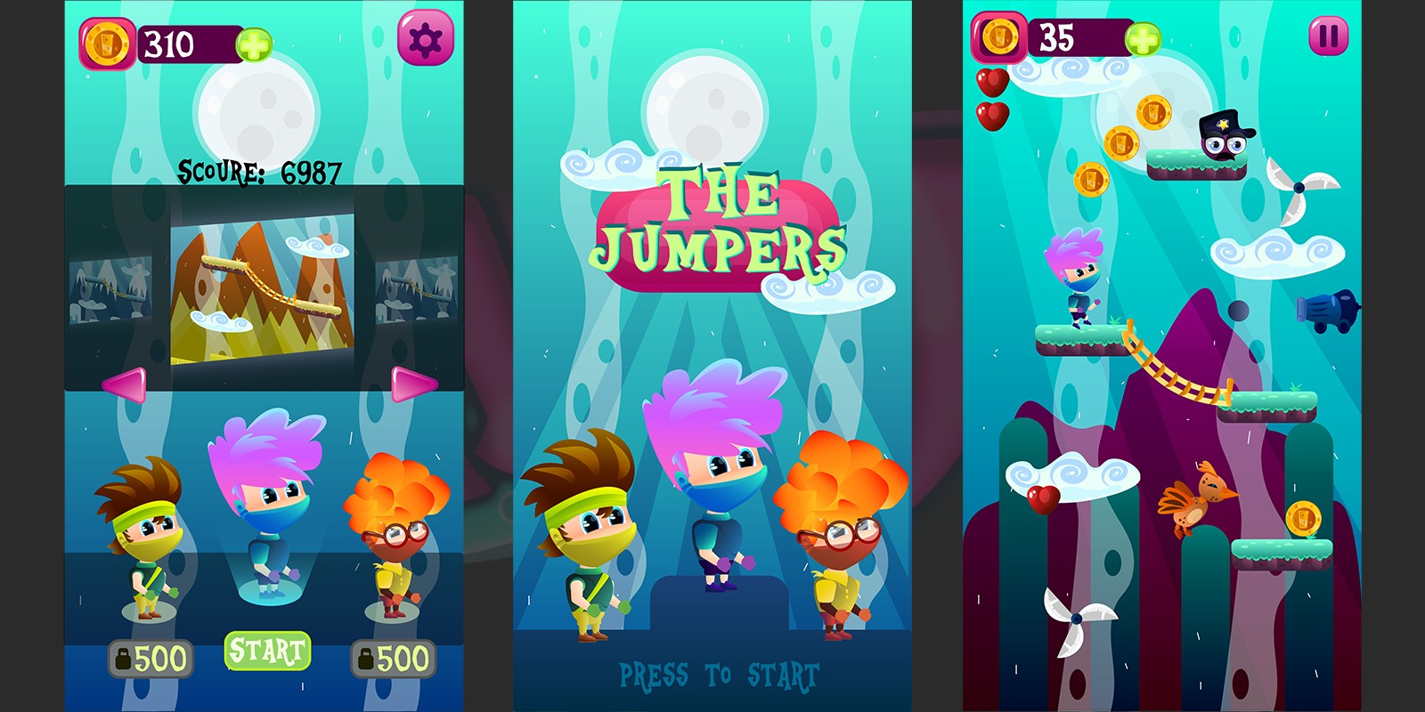 The Jumpers Game GFX Assets Kit