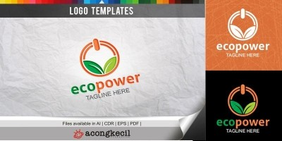 Green Power - Logo Template