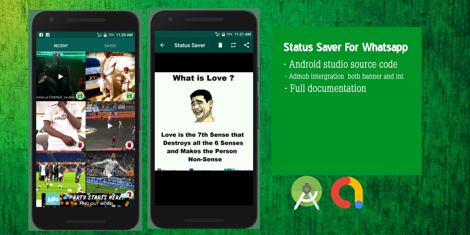 Status Saver For Whatsapp - Android App