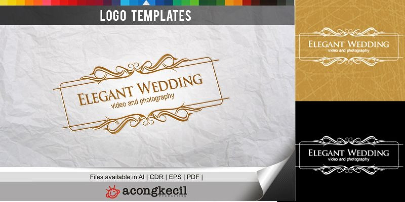 Elegant Wedding - Logo Template