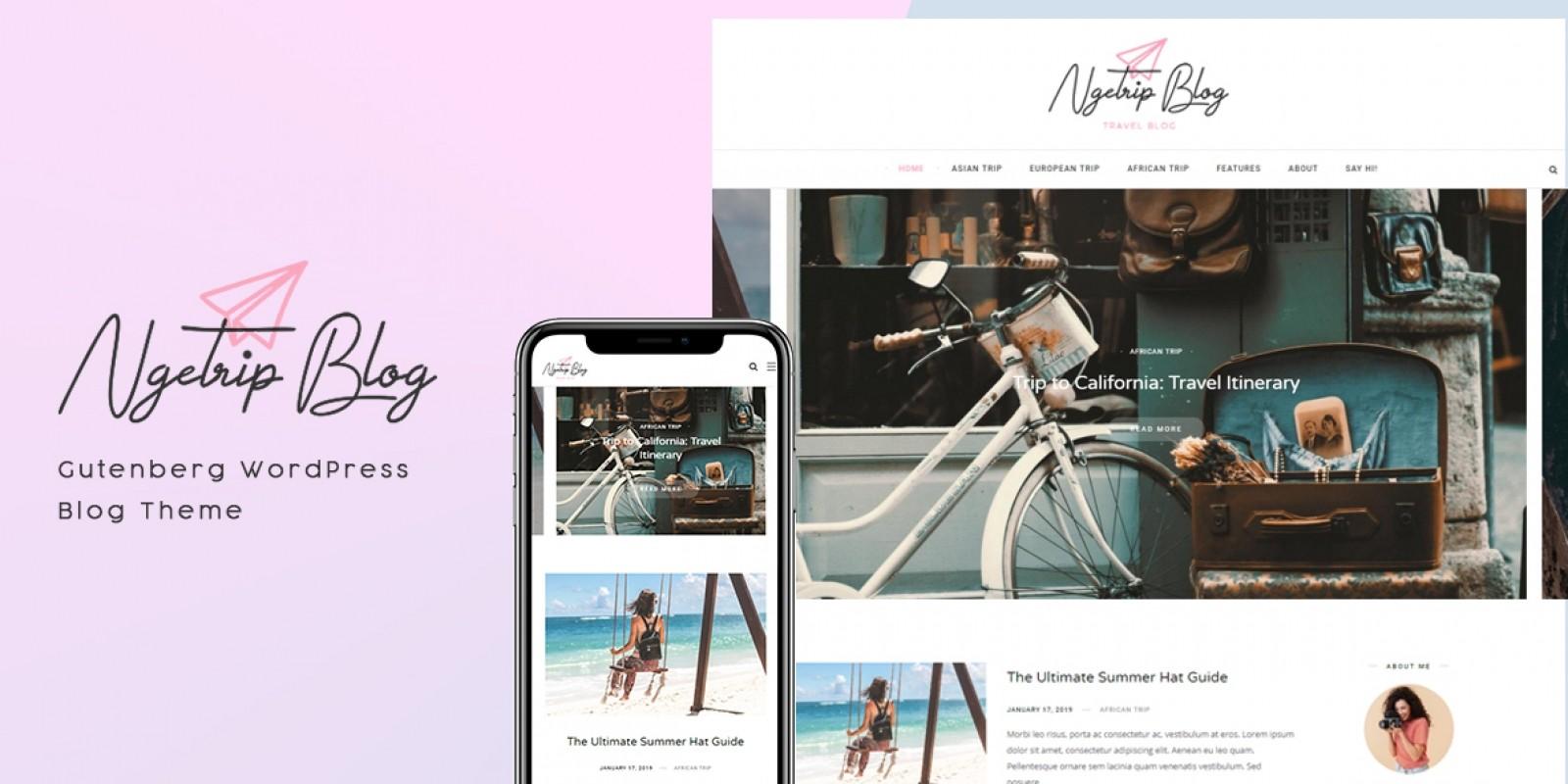 Ngerip - WordPress Theme