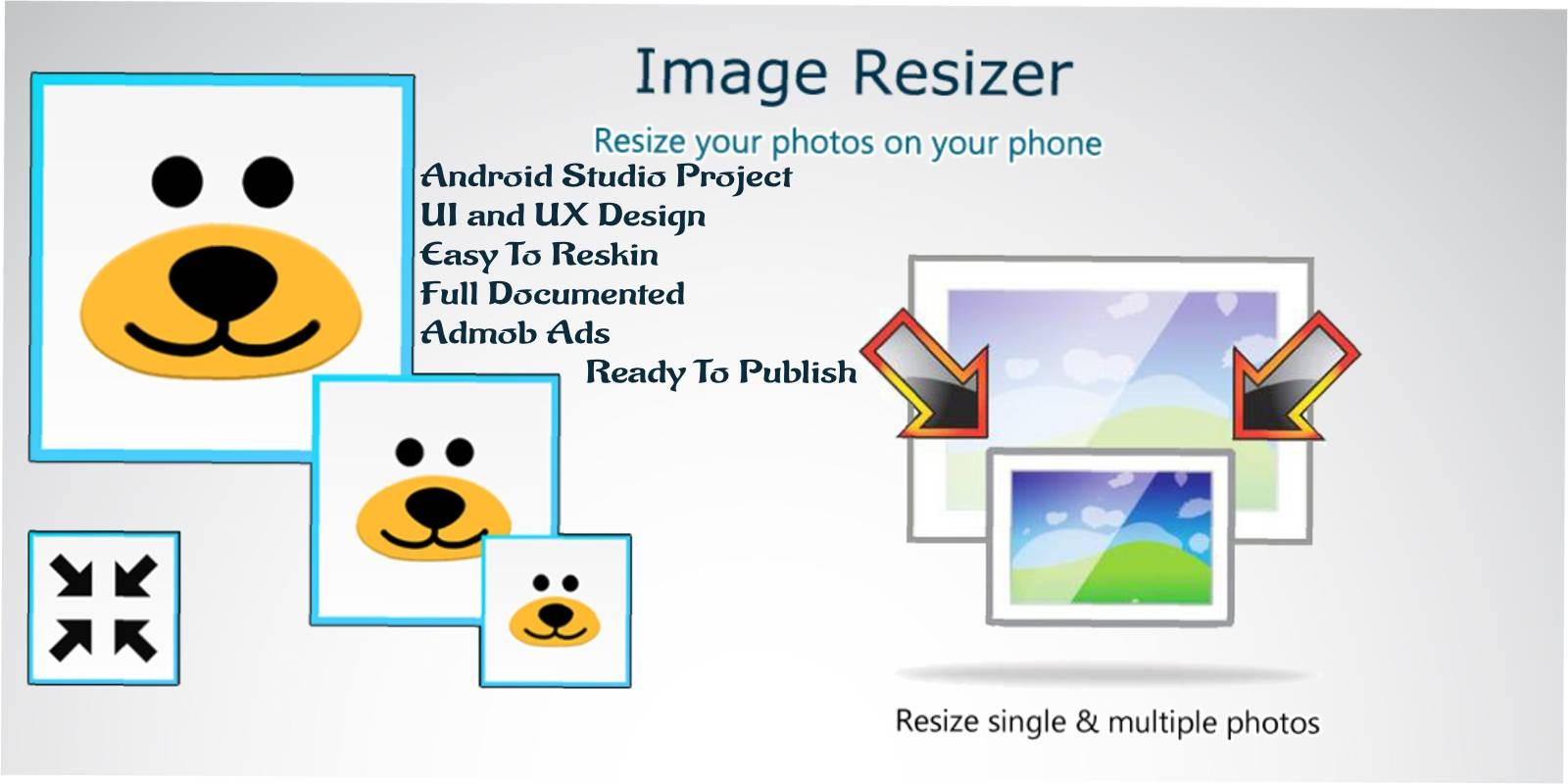 Image Resize App - Android Source Code